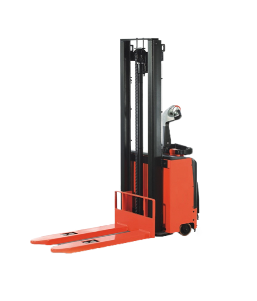 Battery Powered Stacker 1600 Kg Capacity 4600 Mm Lifting Height