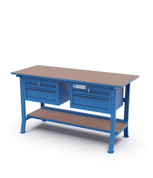 Workbenches – Double Drawer Cabinets