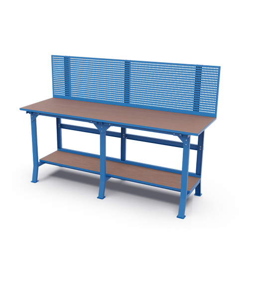 Long Workbenches – Perfo Panel