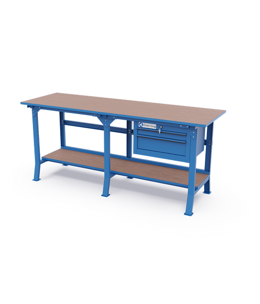 Long Workbenches – 2 Drawers