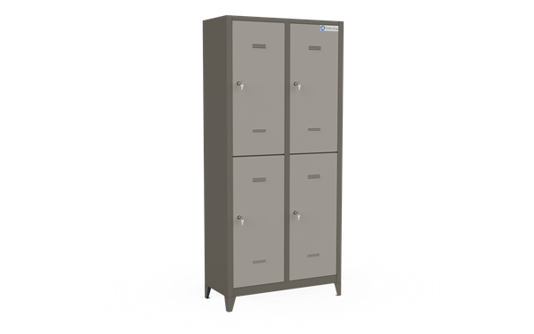 Lockers - Four Section